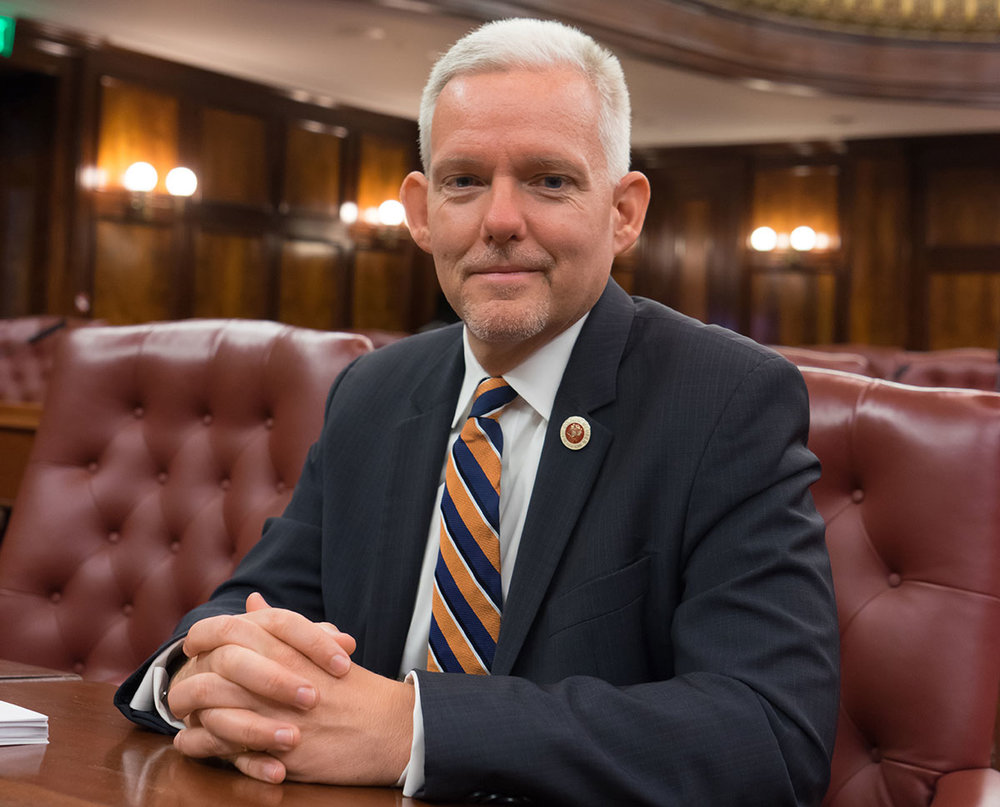 Jimmy Van Bramer,  New York City Council Member, District 26