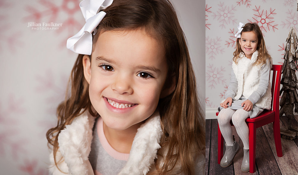 Calgary Christmas Mini Sessions held by Calgary Photographer Jillian Faulkner.