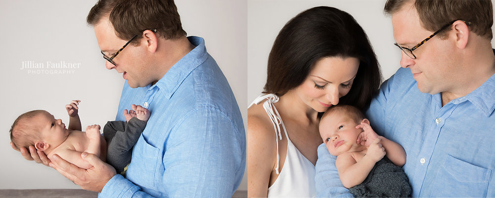 Calgary newborn photographer Jillian Faulkner is passionate about newborn photography and offers her clients both on location and studio sessions. Jillian Faulkner's newborn photography images are classic and timeless.