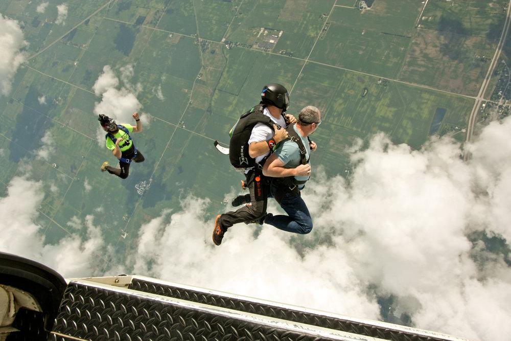 Skydive videos