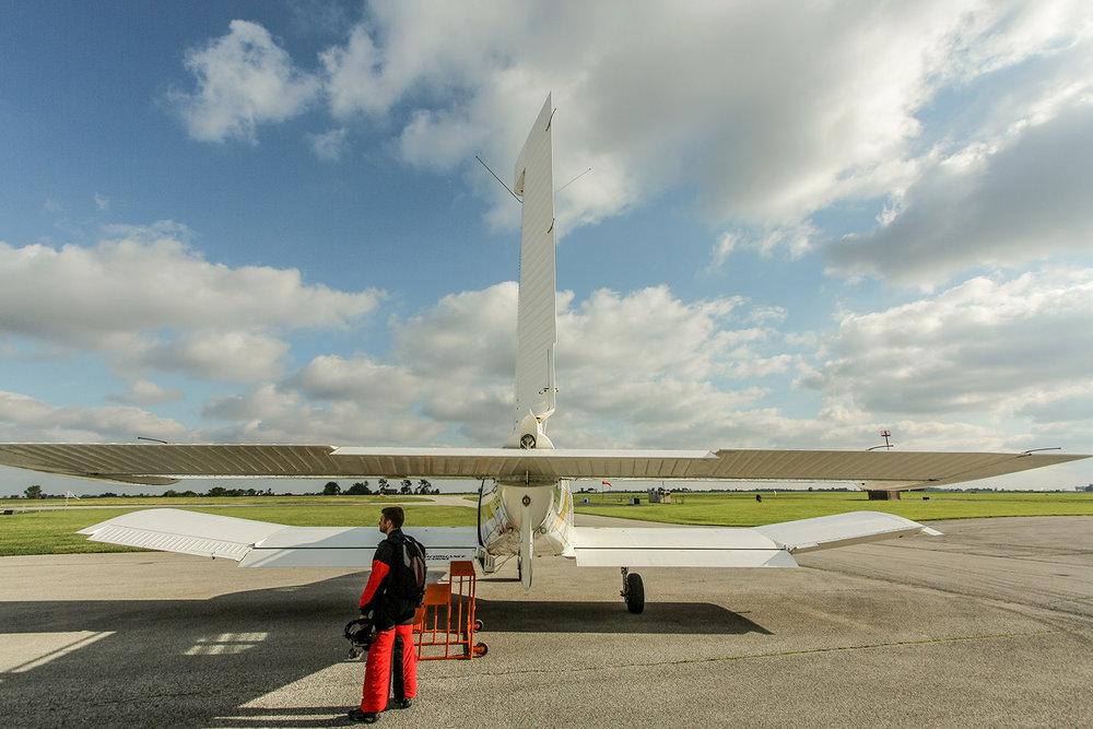 Turbine jump aircraft