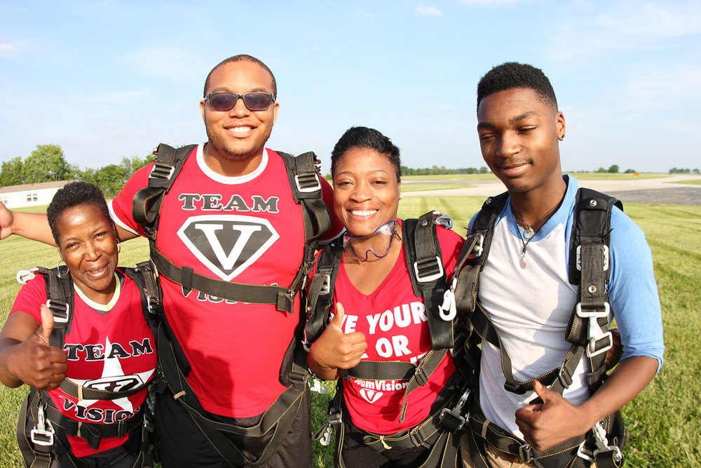 Skydive for good