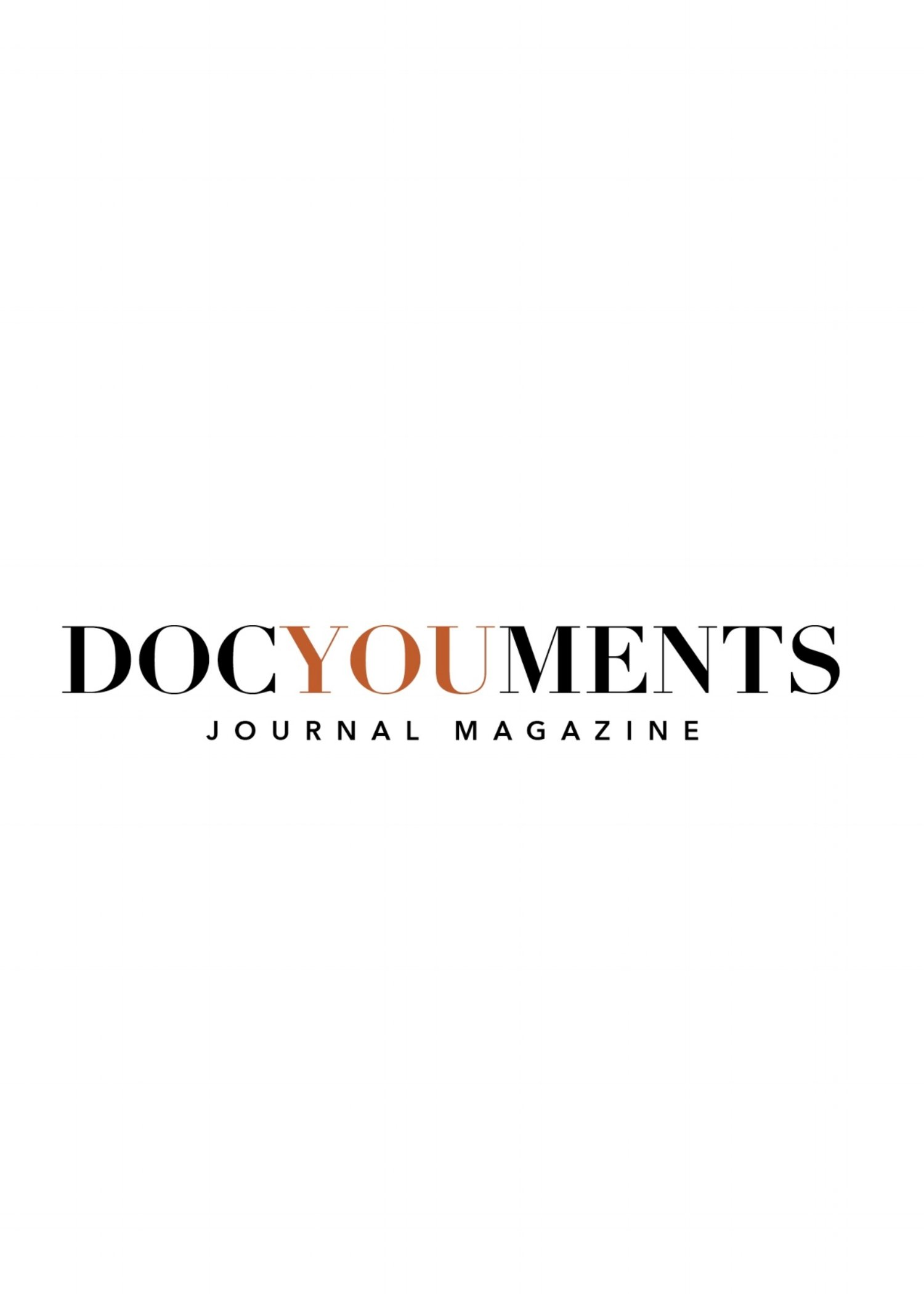 DOCYOUMENTS JOURNAL MAGAZINE