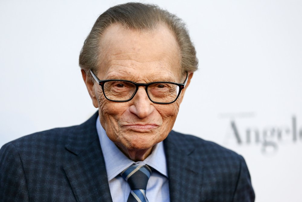 LARRY KING - Interview Legend / Inventor of Fire