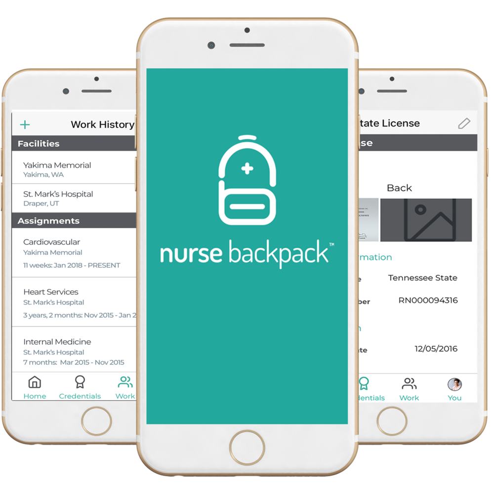 Nurse Backpack Mobile App