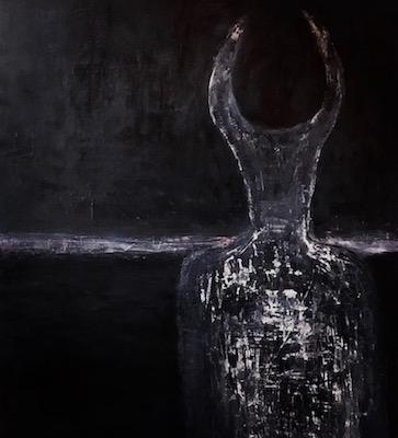 Acrylic on canvas, 4' x 3', 2018 by Nicholas Emery
