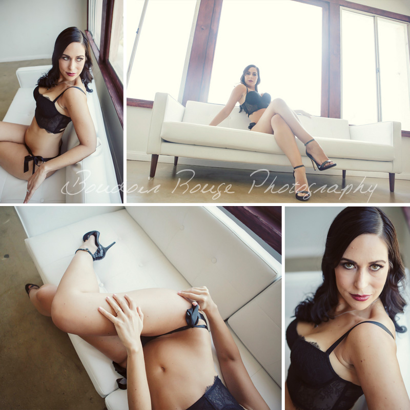 Los Angeles Sexy Boudoir Studio Shoot
