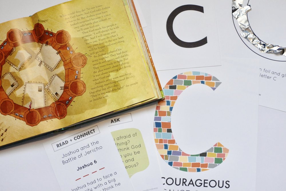 Letter C: Be COURAGEOUS
