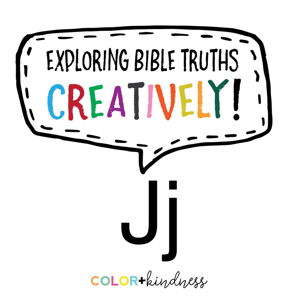 Letter J Color + Kindness