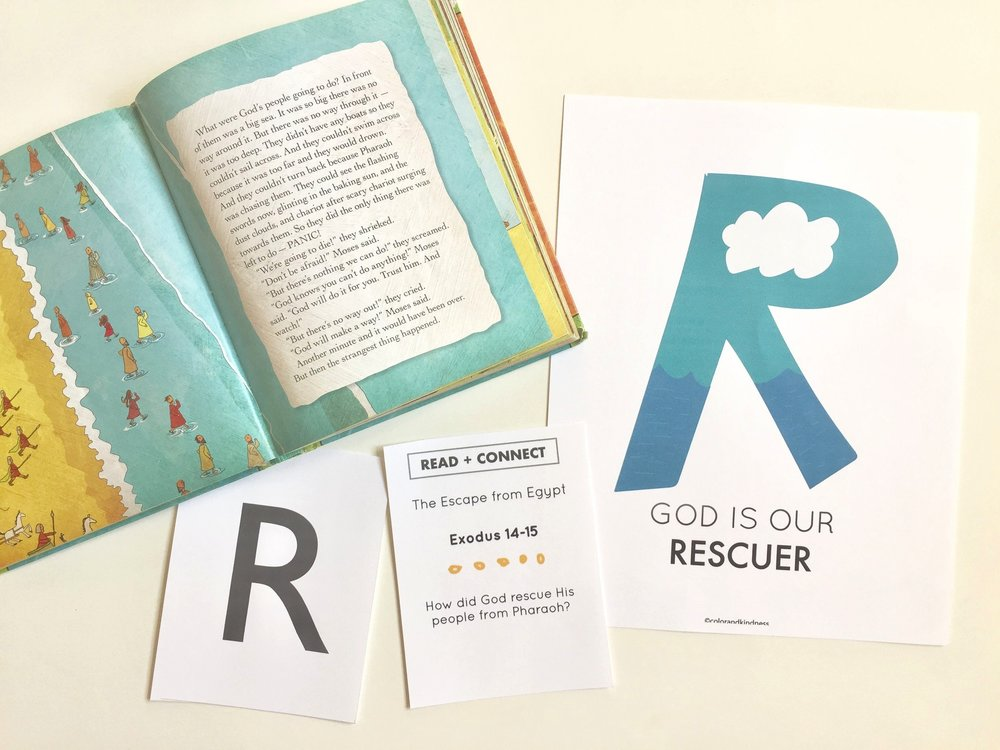 Letter R: Color and Kindness