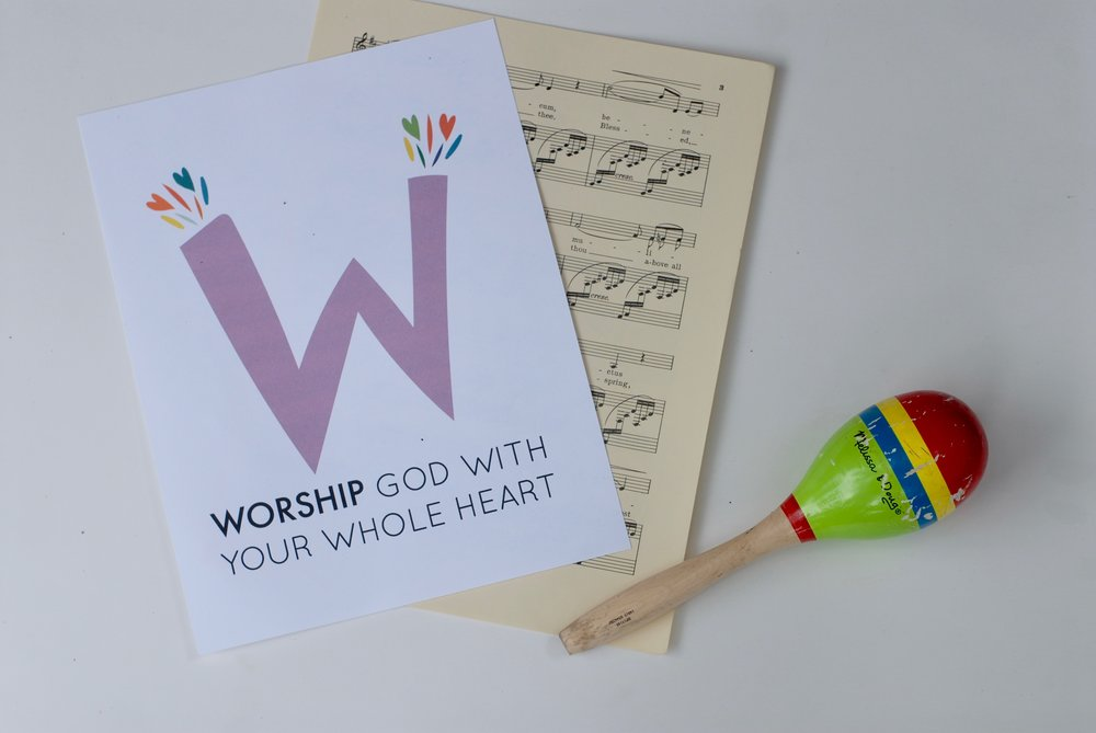worship God with your whole heart