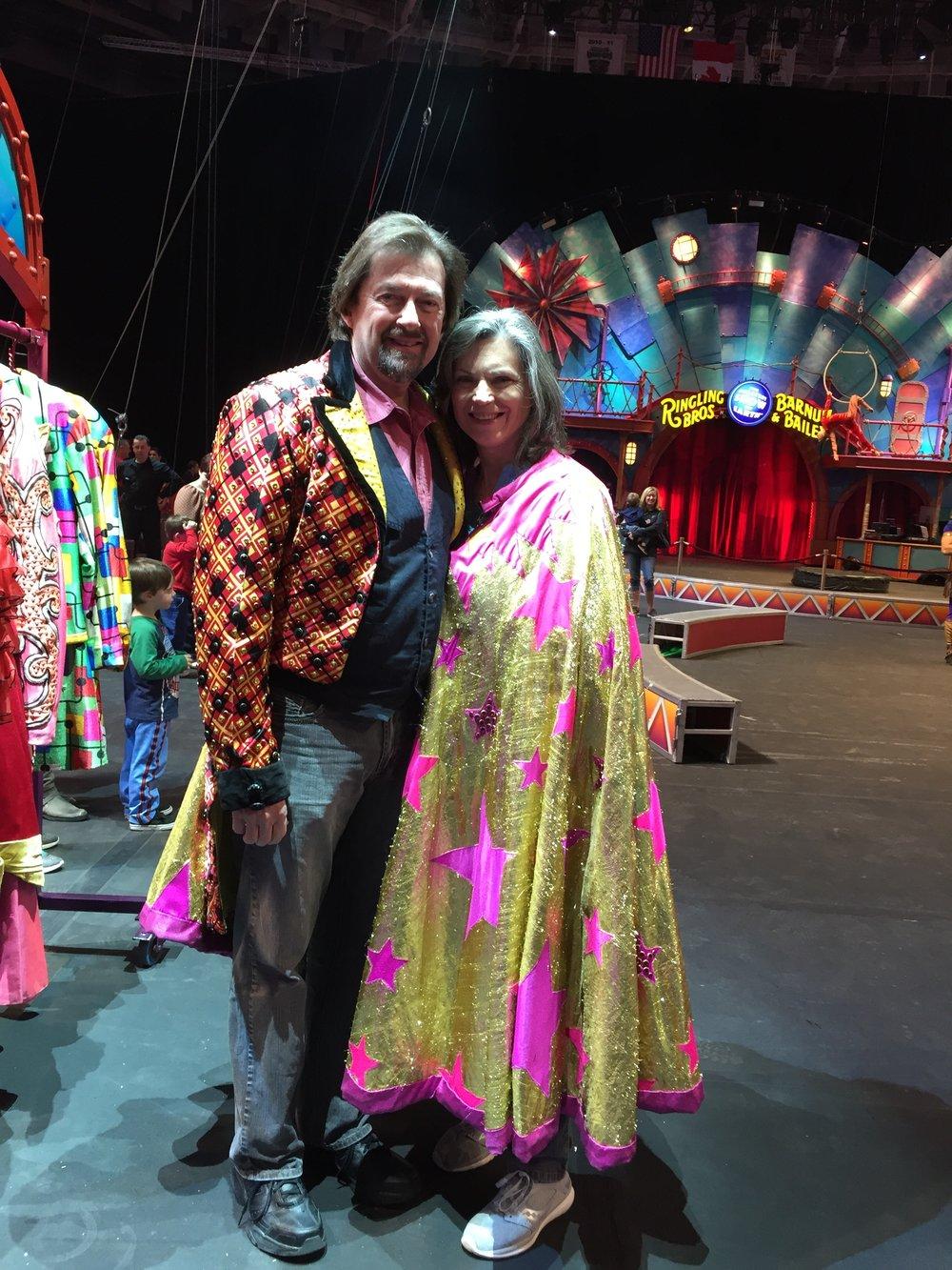 Bill, Kathy at RBBBCircus.JPG