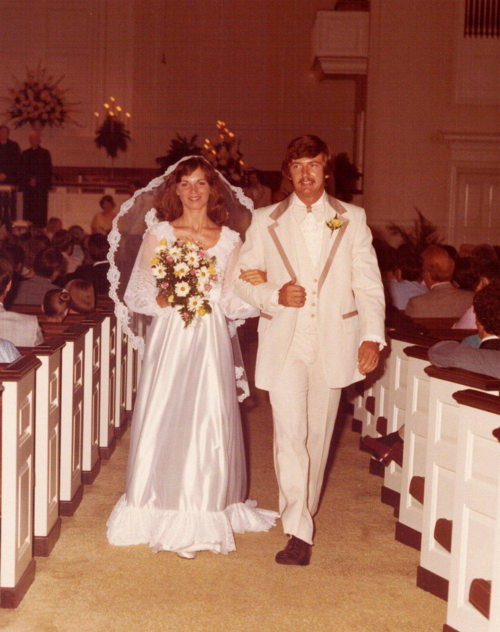 Kathy, Bill wedding recessional.jpg
