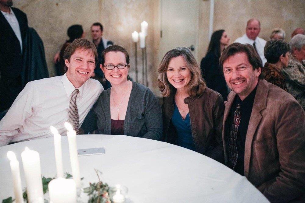 Chris, EA, Kathy, Bill at wedding table.jpg