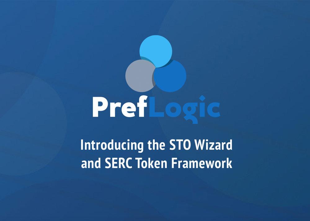 PREFLOGIC - Introducing STO Wizardand SERC Token Framework