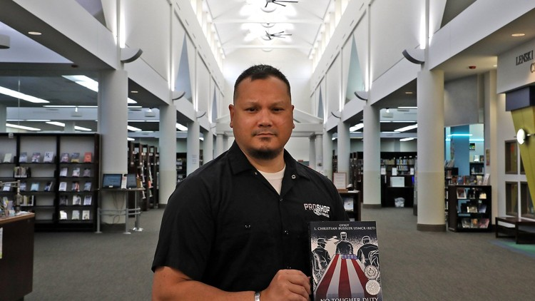 Award winning author and retired US Marine, L Christian Bussler