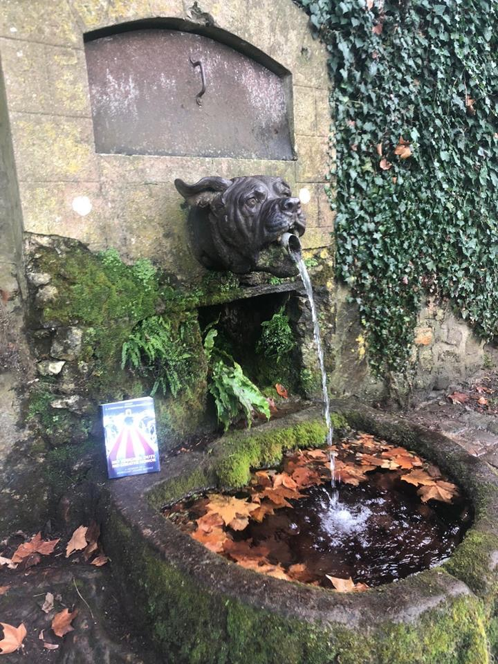 """The book at """"Devil Dog Fountain"""""""