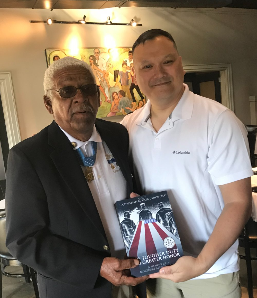 MOH reciepient and retired US Army Special Forces SFC Melvin Morris!! A REAL AMERICAN HERO!!!