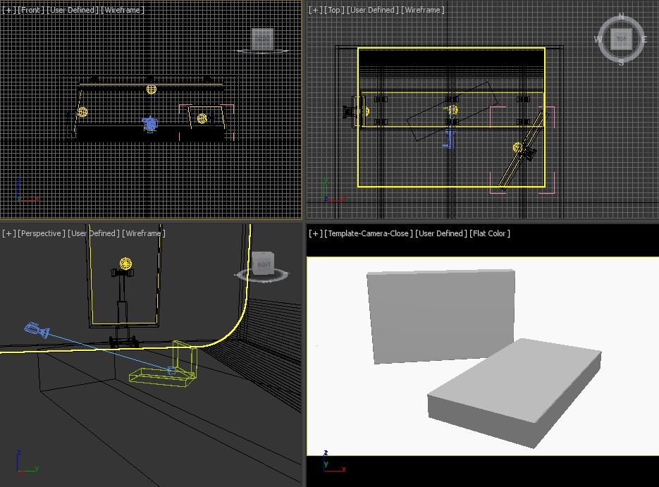 3ds max studio lighting