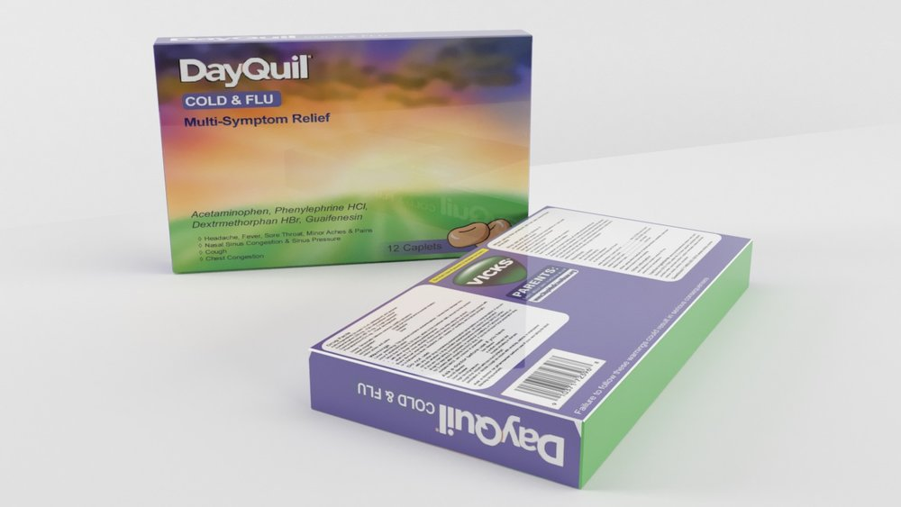 dayquil package redesign