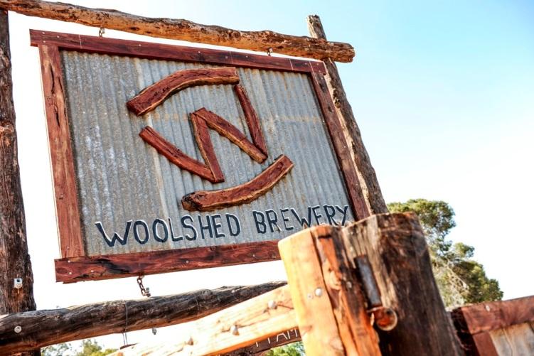 Woolshed Brewery, Murtho, South Australia |  http://www.wilkadene.com.au/brewery/