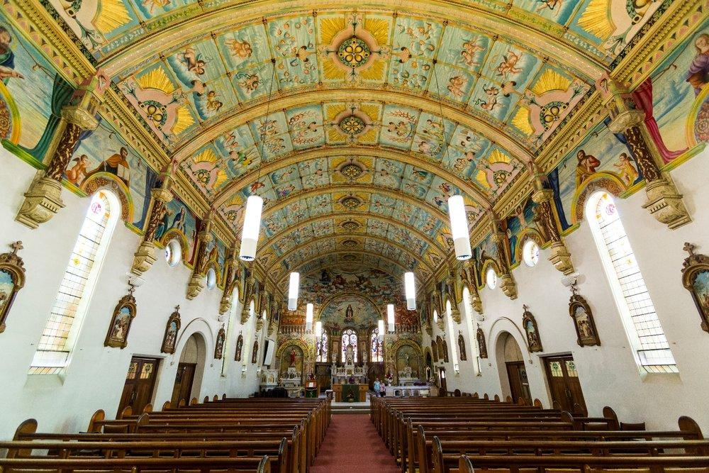St Mary's Catholic Church. Bairnsdale