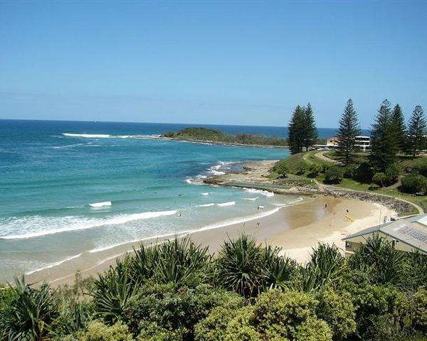 Yamba Beach, New South Wales