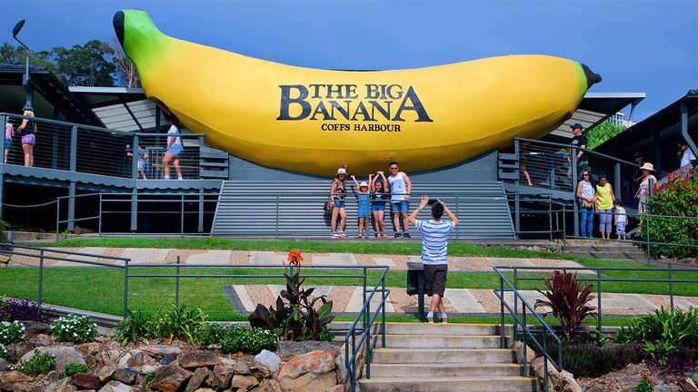 The Big Banana, Coffs Harbour, New South Wales