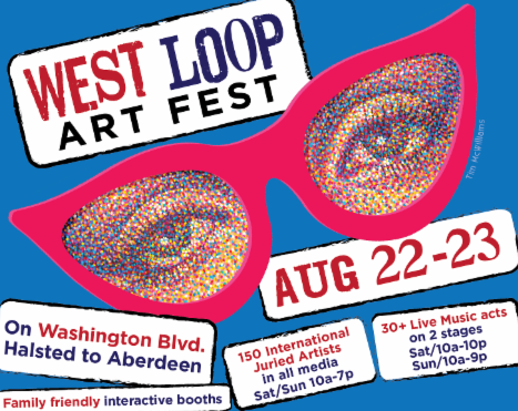 West Loop Art Fest, Featuring Sculpture by Russ