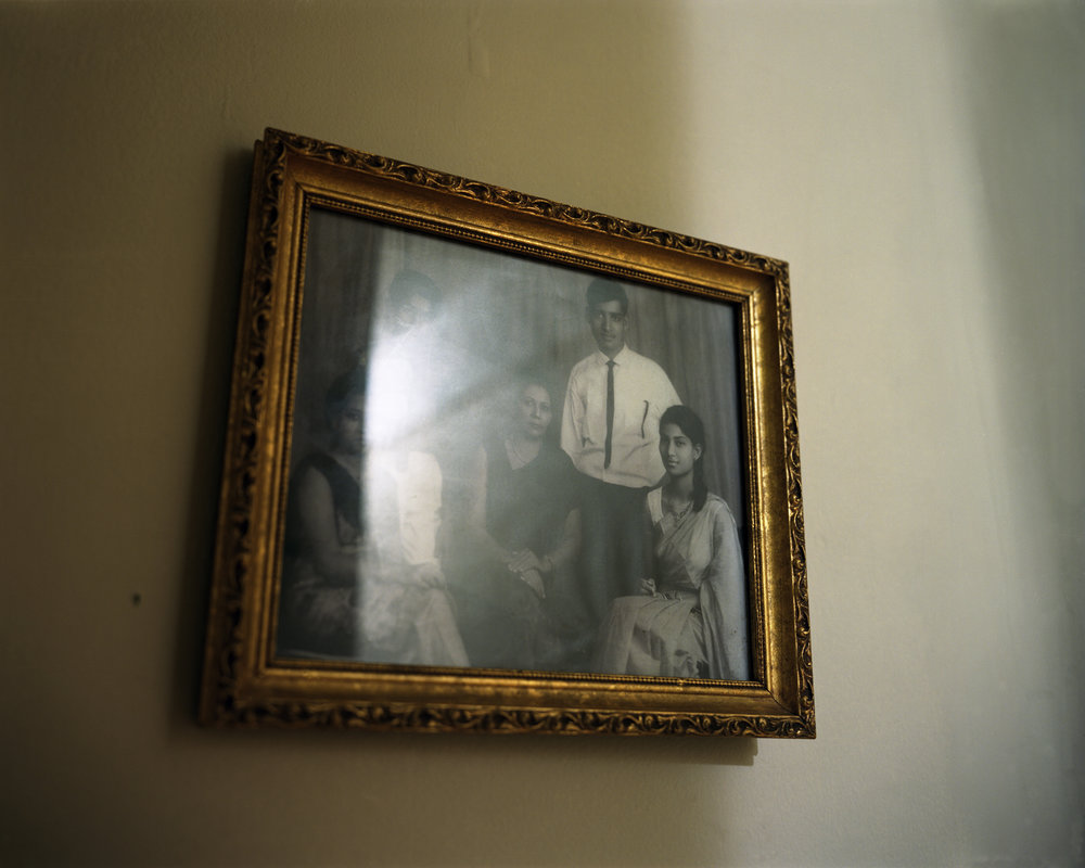 "Home of a Martyr #3.  Chromogenic color print. 24""x20"". 2014."