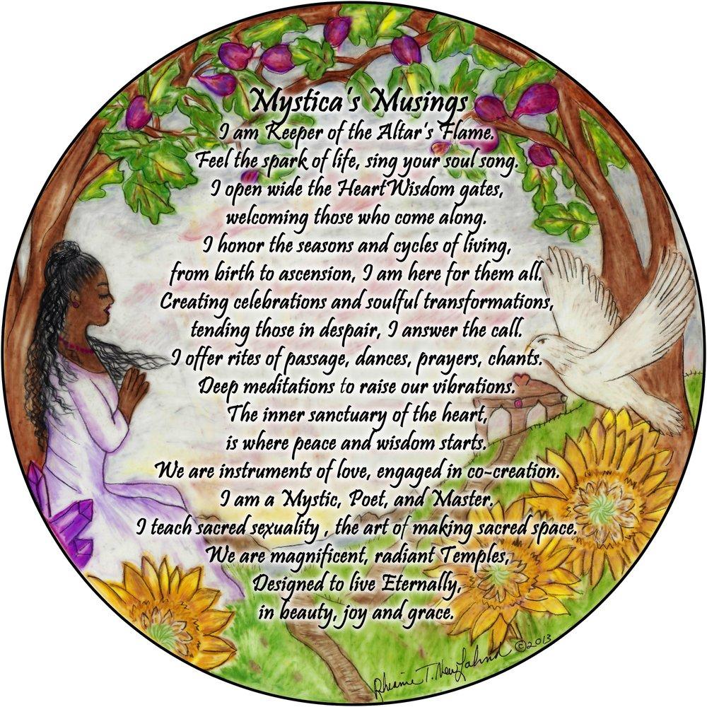 Mystica, Wise Woman of Spirituality, Sanctuary, Sacred Ceremony