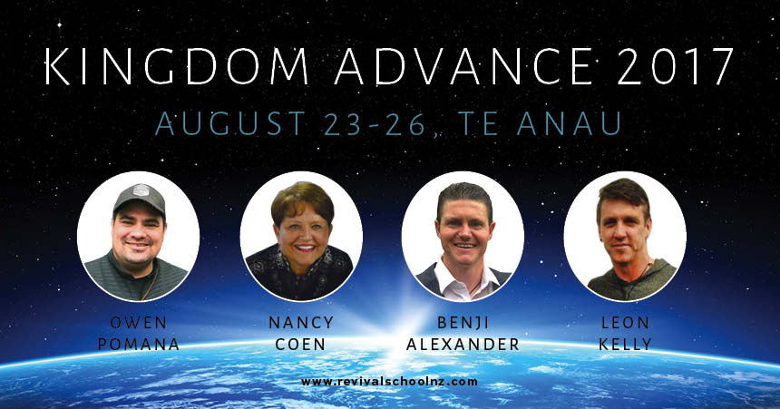 Kingdom Advance 2016 helps Revival School students learn about identity, transformation, intimacy, sonship, vision, dreams, destiny.