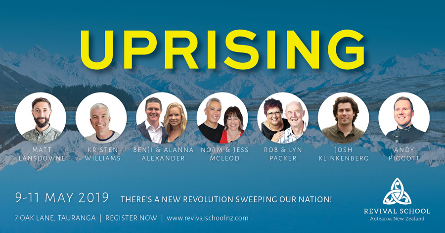 Uprising Conference helps Revival School students learn about identity, transformation, intimacy, sonship, vision, dreams, destiny.
