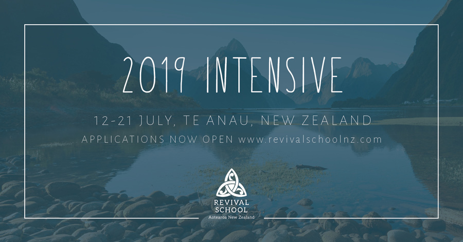 2018 Intensive School helps Revival School students learn about identity, transformation, intimacy, sonship, vision, dreams, destiny.