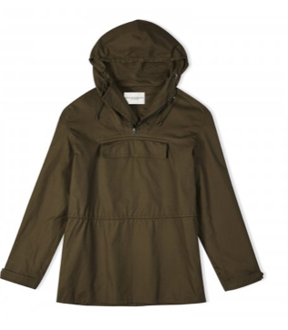 Holland and Holland overhead jacket-Dark Ollive.png