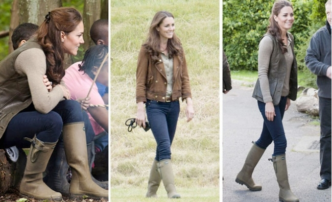 Princess Kate's chic country style for shooting and hunting.