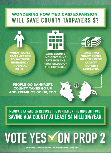 What does Medicaid Expansion mean for Ada County?