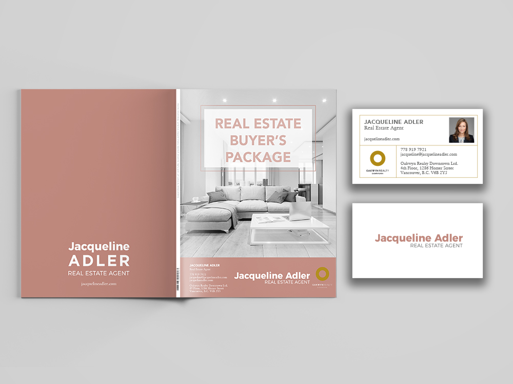 Vancouver real estate buyer's package design