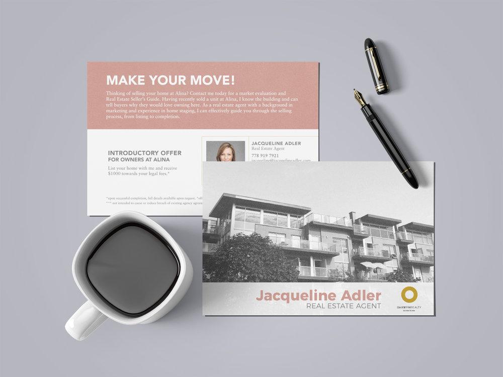 Vancouver real estate graphic design