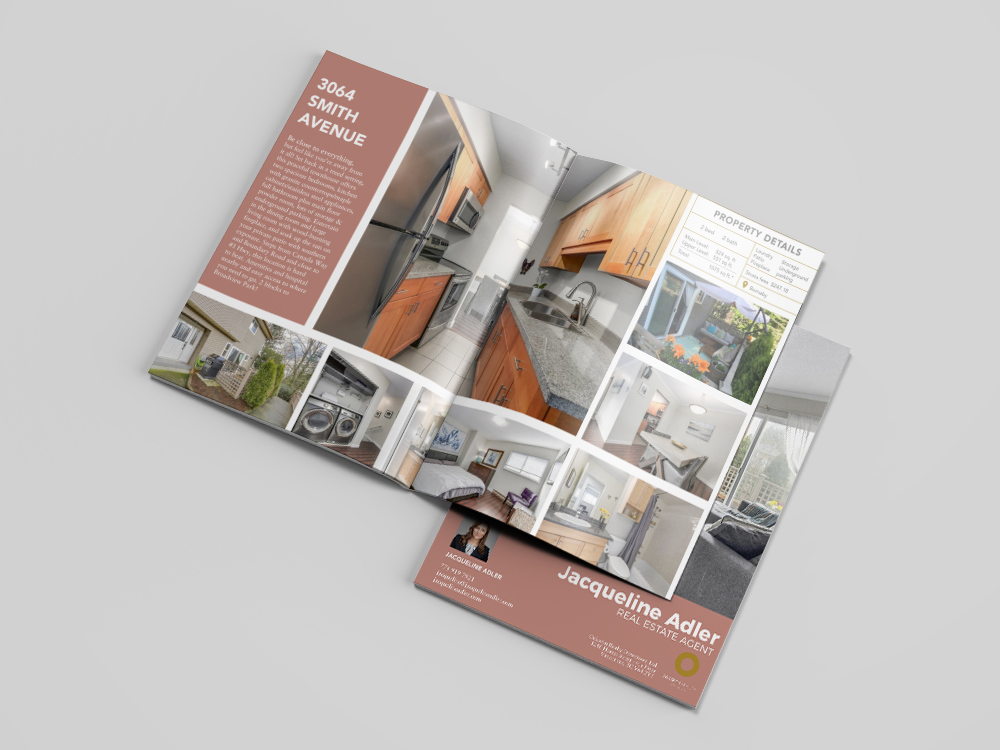 Vancouver real estate feature sheet design