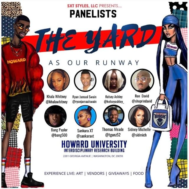 To My Panelists.... THANK YOU! I personally selected you to be apart of my vision because I am inspired by your journey, hustle and grind!!! The testimonies you all shared were from the heart yet so real & relatable!! We are all from different walks of life but share the commonality of walking across the yard and transitioning into fashion moguls!! Thank you guys for believing in me and traveling from near and far to make my dream come true!!!! #GodisGood #Blessed #passionmeetspurpose  #swipeleft to see how to stay connected to the panelists (and the dope collages that I had so much fun creating for them)  Panelists: @ryanjamaalswain | @kelseyashley_ | @mr.rondavidedwards | @khalawhitney | @tgunz52 | @sidmich_ | @bang500 | @howard1867 | @howardalumni