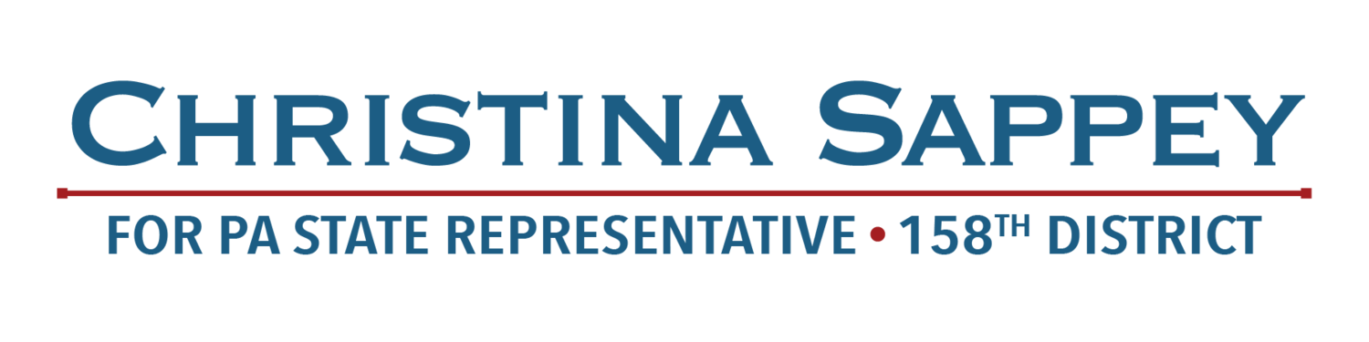 Christina Sappey for PA State Representative 158th Legislative District