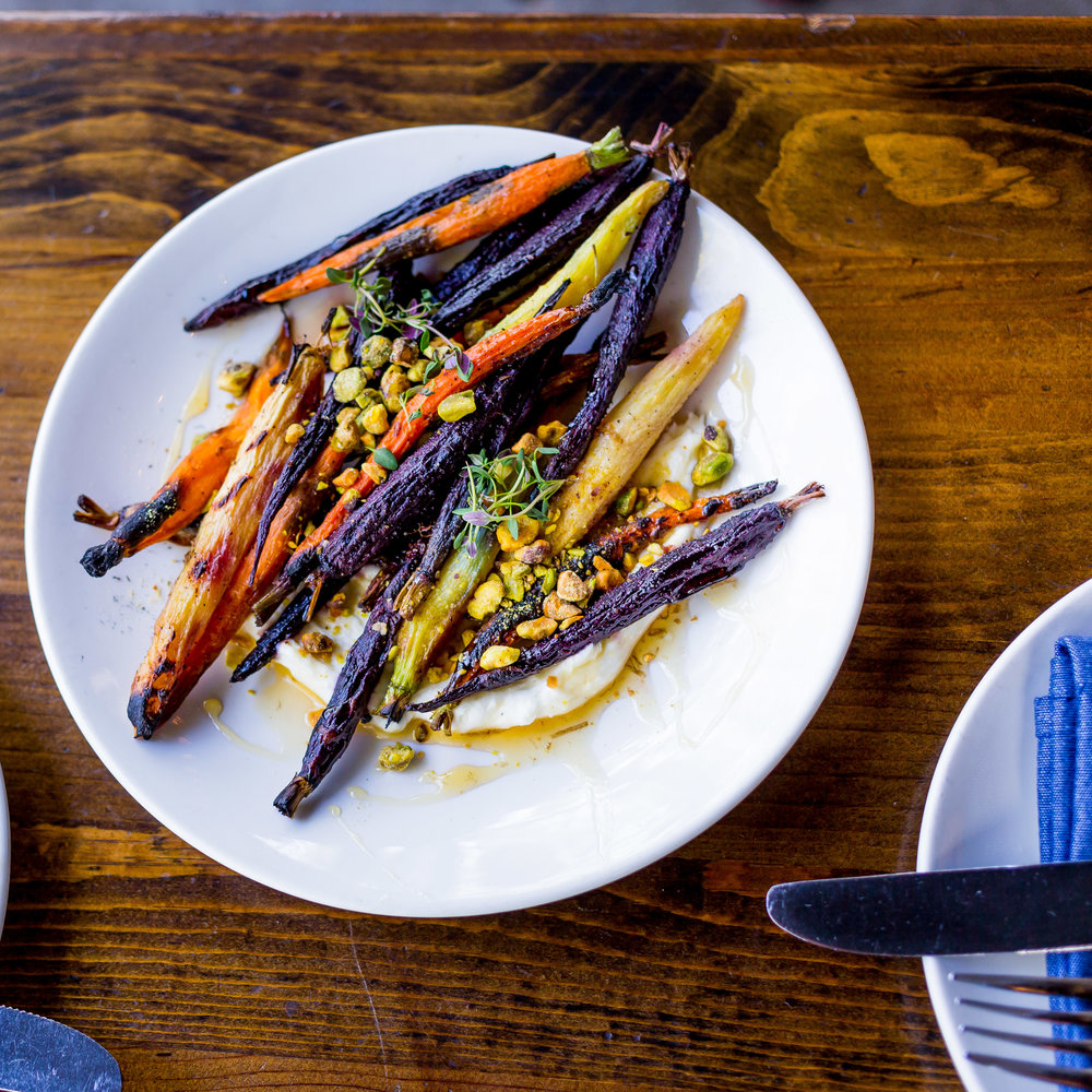 Carrots with Pistachios