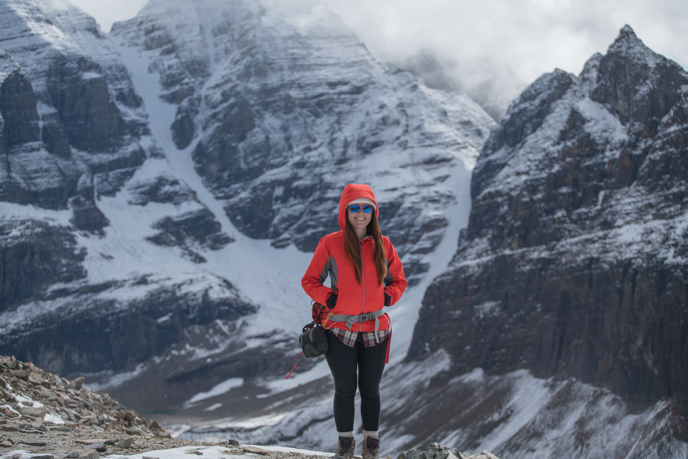 5 Month Postpartum, Lake O'Hara, Canada