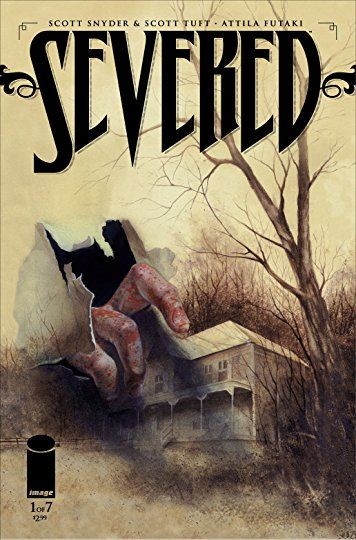 Severed - Published by Image ComicsWritten by Scott Snyder and Scott TuftArt by Attila FutakiInks by Bill NelsonColoured by Greg GuilhaumondLettered by Fonografiks