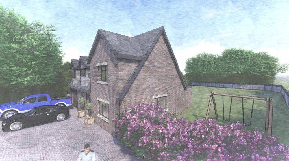 New build design in Wyboston