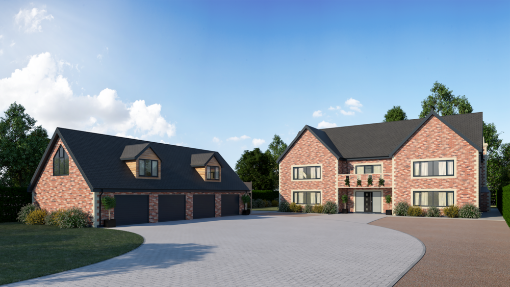 A very large 5-bedroom high-end build in Northamptonshire