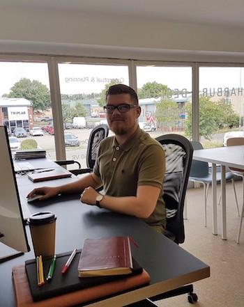 Daniel Clutterbuck –  Design Manager