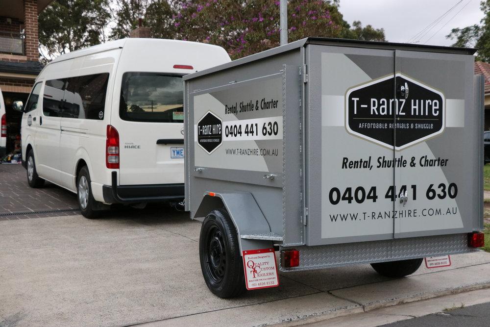 Van with trailer.JPG