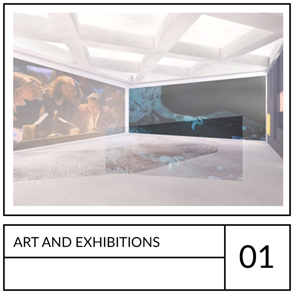 Copy of Arts and exhibitions